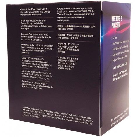 processador intel lga 1151 core i5-8400 8ª geração