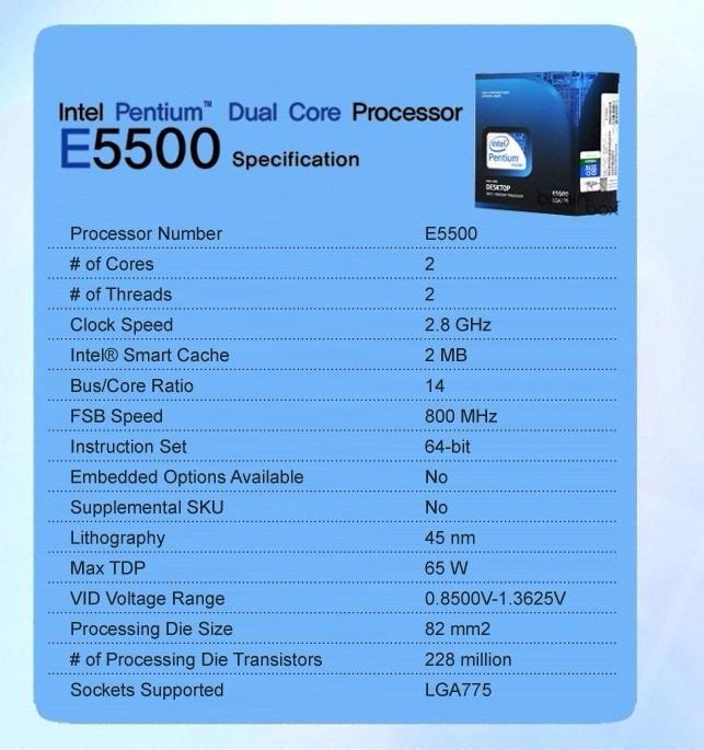 INTEL PENTIUM DUAL CORE E5500 DRIVER FOR WINDOWS DOWNLOAD
