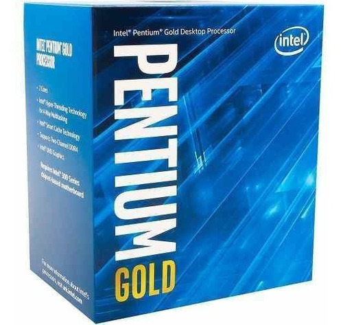 processador intel pentium gold g5400 coffelake lga 1151