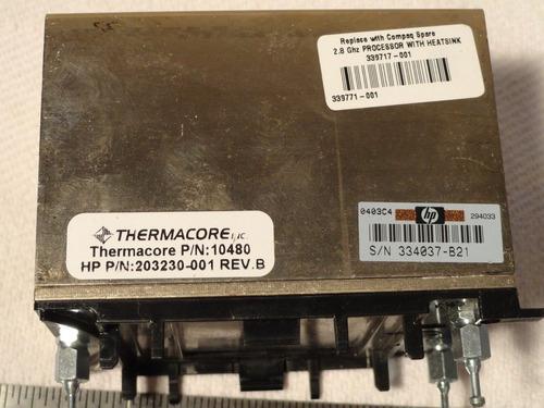 processador intel  pentium xeon 2.0ghz/1ml3/400/1.47