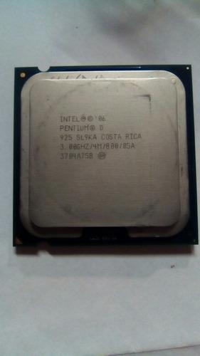 processador intel pentiun d 3ghz/4m/800/05a
