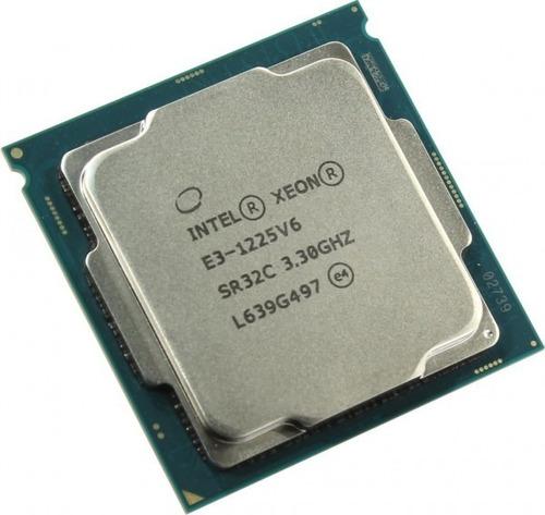 processador intel xeon sr32c e3-1225 v6 quad-core dell, hp..