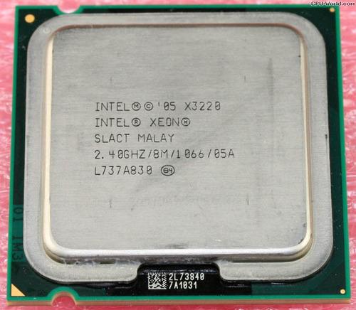 processador intel xeon x3220 2.40ghz 8m cache 1066 l817a311