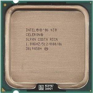 processador lga 775 celeron 430 usado - 1.80ghz