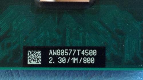 processador note intel dual core t4500 1m 2.30ghz slgzc #932