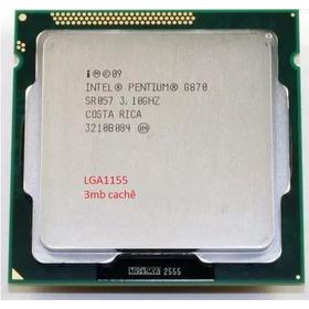 Processador Pentium G870 3.1ghz 3mb Lga1155 + Pasta