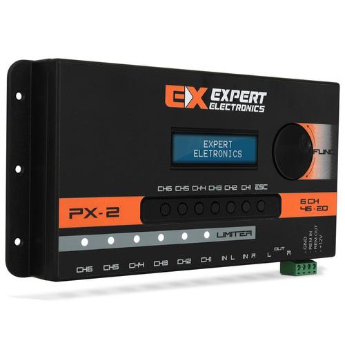 processador px2 limiter 6 ch equalizador crossover expert