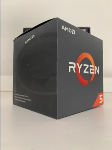 processador ryzen 5 2600 6 nucleos 12 threads 3,4ghz