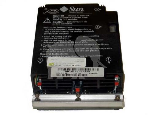 processador sun x2580a 400mhz ultrasparcii module, 8mb cache