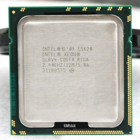 processador xeon e5620 cache 12m, 2.40 ghz, 5.86 gt/s intel®