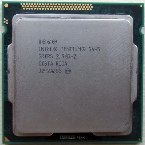 processados intel pentium g645
