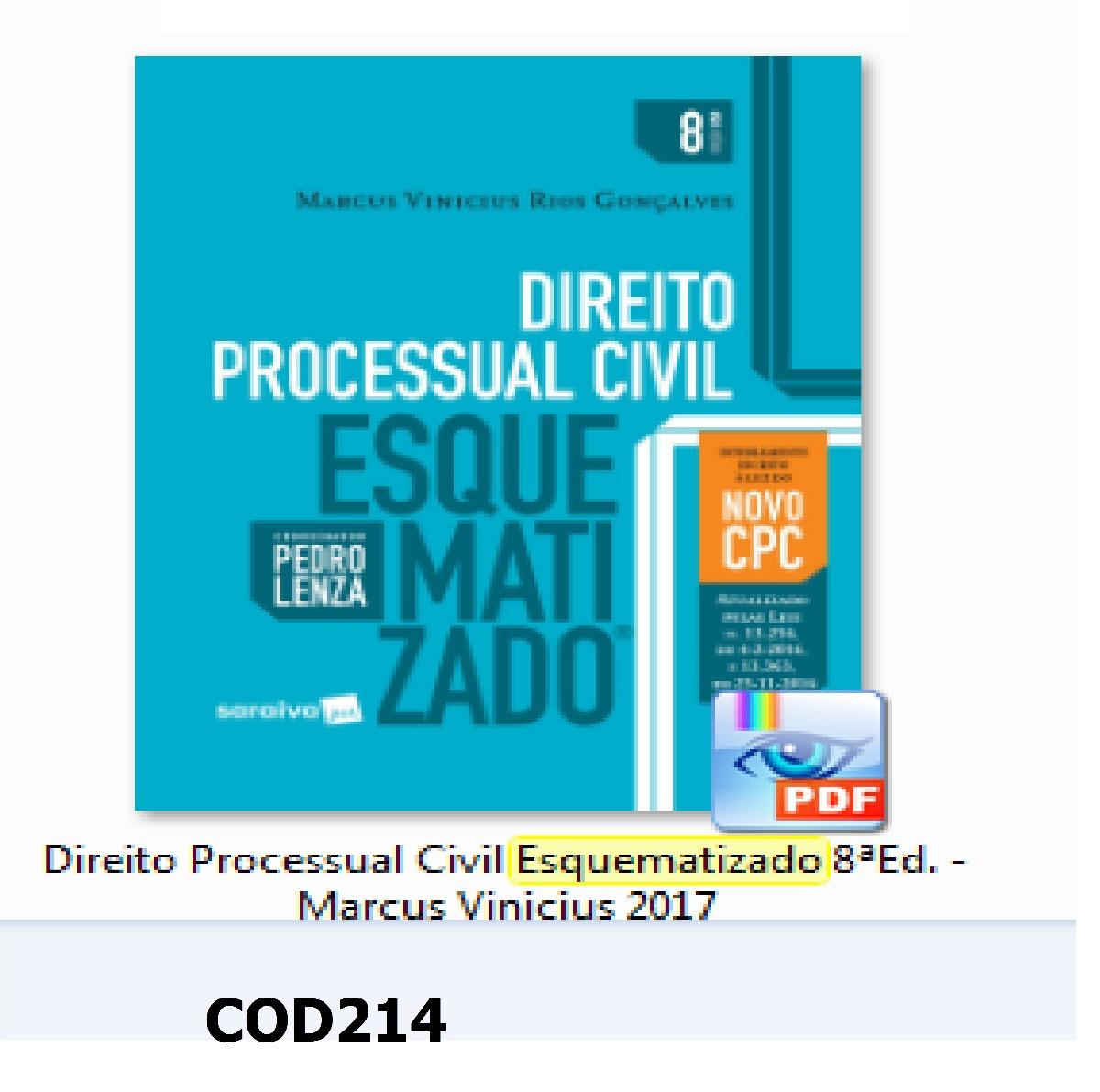 Do Livro Direito Processual Civil Esquematizado Pdf