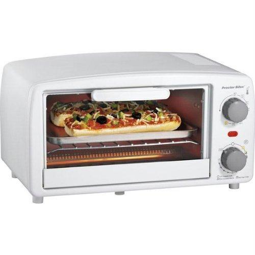 proctor silex 4 slice toaster horno asador blanca