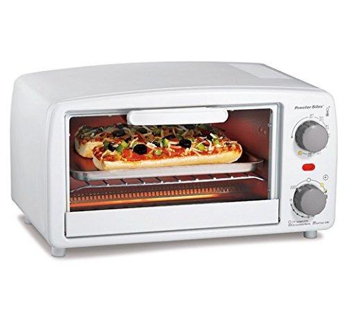 proctor silex 4 slice tostadora horno broiler blanco
