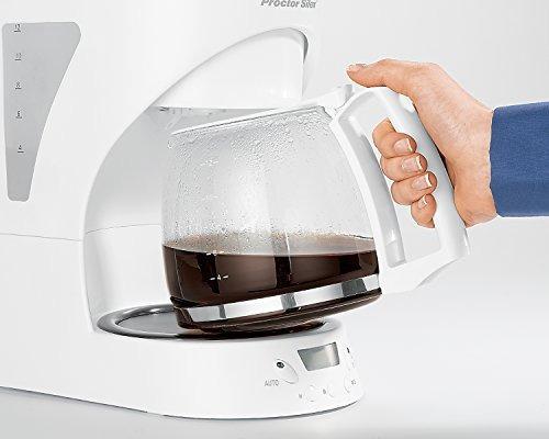 proctor silex 43571 cafetera automática 12 tazas