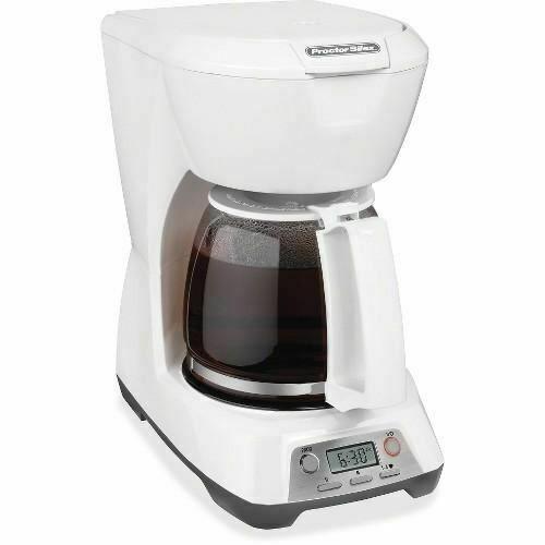 proctor silex 43671 cafetera programable de 12 tazas