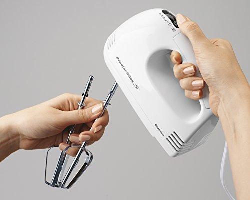 proctor silex 62509ry 5 velocidad batidora de mano, blanca