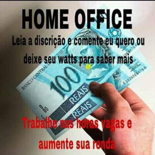 procuro pessoas para trabalhar online com  home office