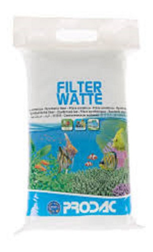 prodac filter watte 100g ( perlon p/ filtragem de aquários )