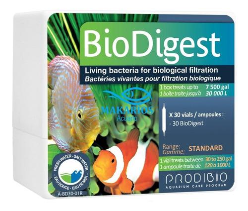 prodibio biodigest cultivo de bacterias acuario 30 ampollas