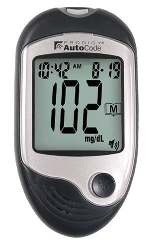 prodigy diabetes care (n) prodigy autocode talking meter kit