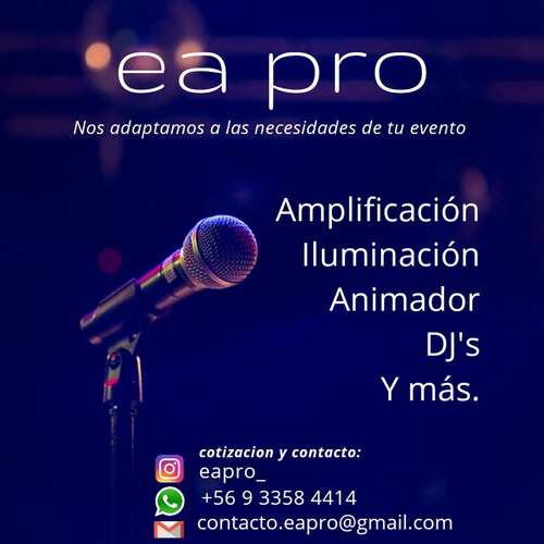 produccion de eventos