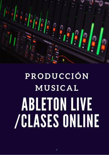 producción en ableton live / clases online / esp-inglés