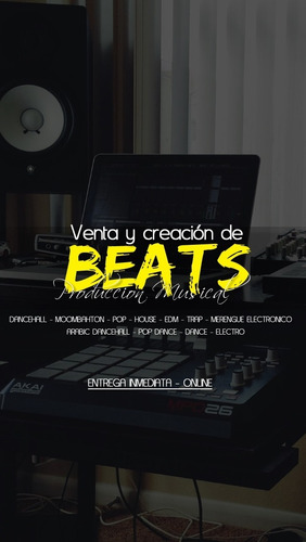 produccion musical venta y creacion de beats