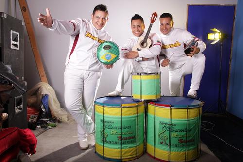 producciones samba rumba show y tambor fusión manduco