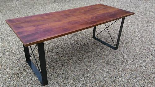 produção de mesas estilo industrial sob medida