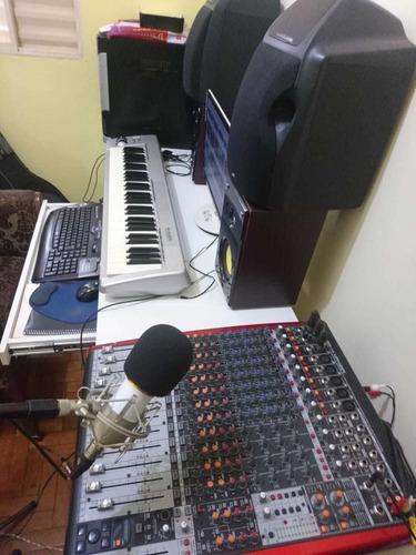produção musical - jingles - playbacks profissionais -