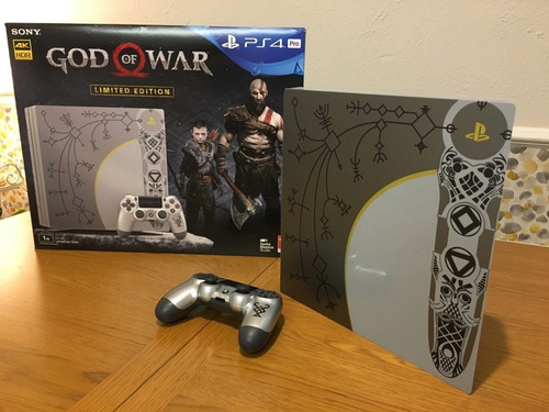 producto: sony playstation 4 pro 1tb + god of war