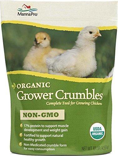 productor orgánico nutritivo para pollos en crecimiento.