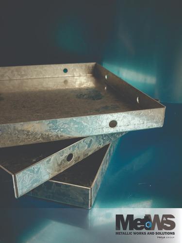 productos acero galvanizado y aluminio. plegado/ punzonado