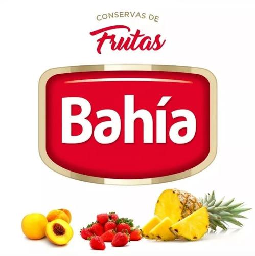 productos bahia lata durazno en almibar 820 grs en mitades