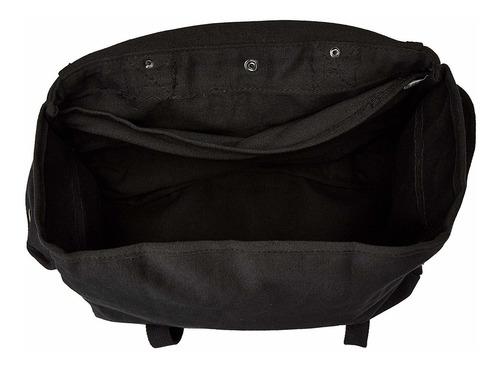 productos bolso musette, negro, 15 x 15 pulgadas