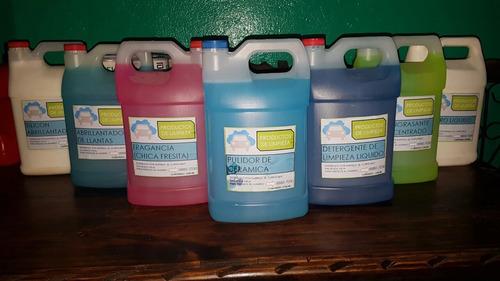 productos de limpieza para autos