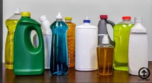 productos de limpieza para el hogar y exteriores.