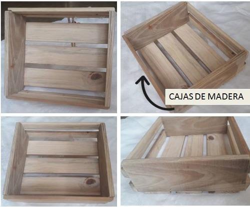 productos en madera