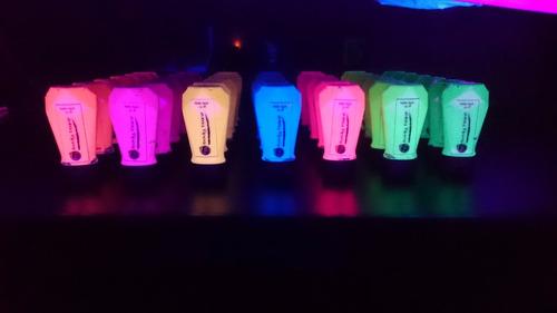 productos para fiesta neon!!!