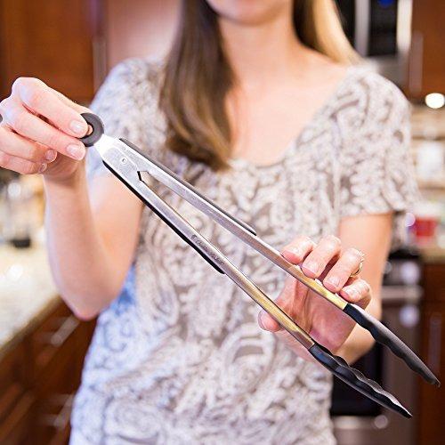 productos qualitas pinzas de cocinar de alta calidad de 12