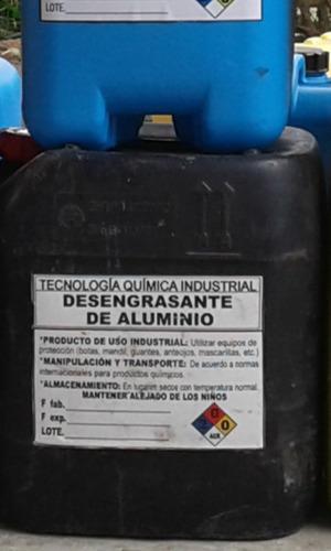 productos químicos para mantenimiento y limpieza  industria