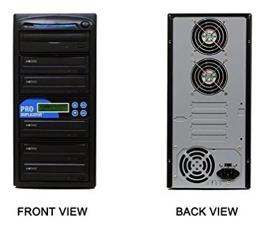 produmplador de 1 a 5 m-disc support cd dvd duplicator bu...
