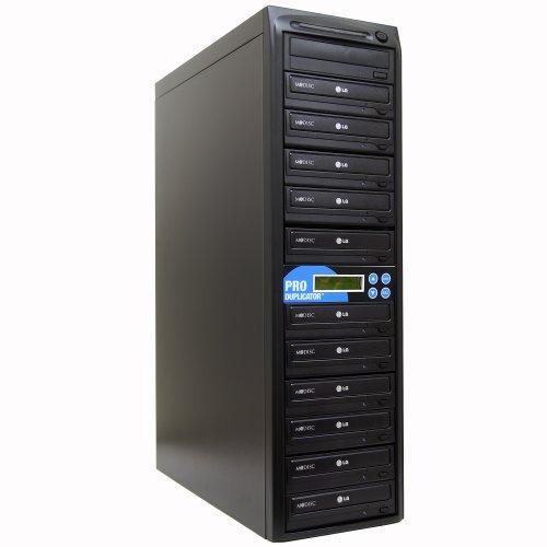 produplicator 1 a 11 copiadora de duplicador de cd de 24x cd