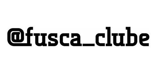produto exclusivo @fusca_clube