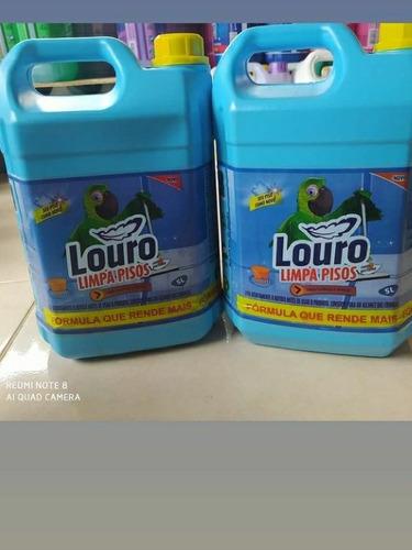 produtos de limpeza louro