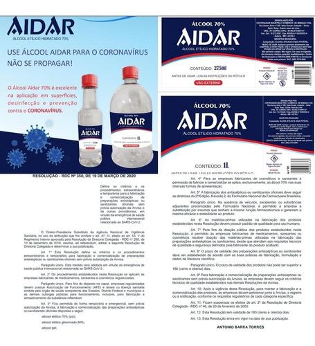 produtos e.p.i, alcool 70% ,líquido.