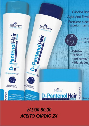 produtos para cabelos em geral