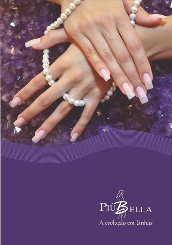 produtos piubella prep + primer + pink gel lu2 + selante