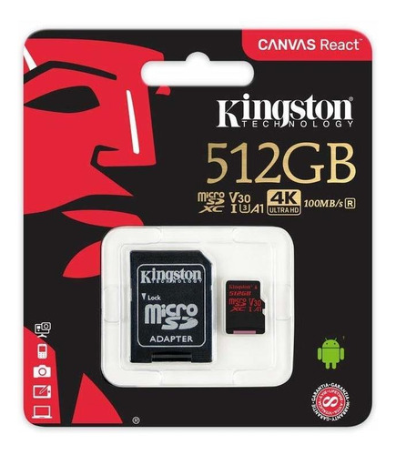 Original tarjeta de memoria Kingston micro SD 8-256 gb para Sony Xperia xa ultra